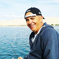 Gilles Pignoges, moniteur guide de pêche